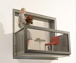 Bloomframe | Window into a Balcony