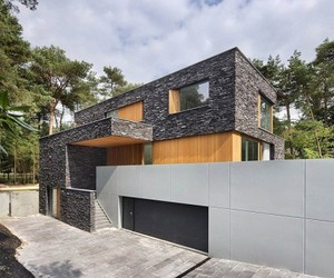 Bosvilla Soest, Modern Forest House by Zecc Architecten