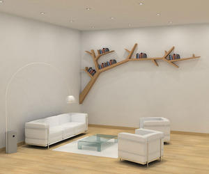 Branch Bookshelf by Olivier Dollé