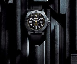 Breitling Avenger Seawolf Blacksteel Code Yellow Watch