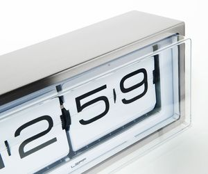 Brick Alarm Clock by Erwin Termaat for Leff Amsterdam