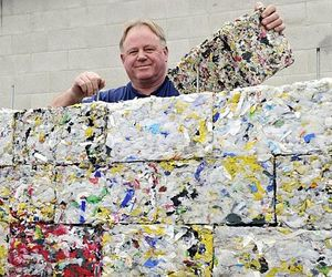 Bricks Made Of Recycled Plastic