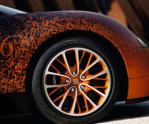 Bugatti Veyron Grand Sport by Bernar Venet