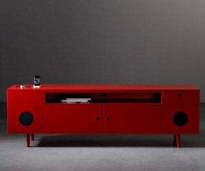 CAIXA Cabinet with Speakers by Paolo Cappello