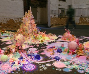 Candy Floor Art By Pip &amp; Pop