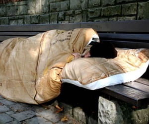 Cardboard Box Duvet Cover for Homeless Young People