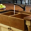 Cast-concrete-sinks-and-solid-wood-countertops-s