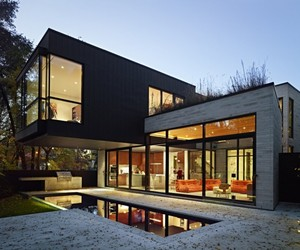 Cedarvale Ravine House by Drew Mandel Architects :