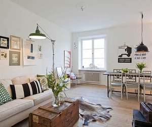 Charming and Elegant Swedish Flat
