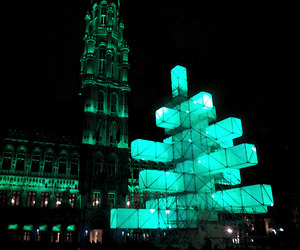 Christmas Tree 2.0 in Brussels