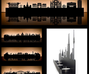 City-skyline-tea-light-holders-by-radius-m
