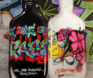 CK One Shock 'Street Edition&quot; Bottles