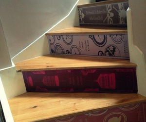 Classic-book-stair-decals-m