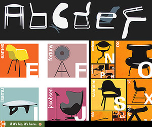 Classic-modern-chair-alphabets-by-two-different-artists-m