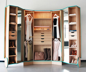 Cleverly-Designed Walk-in-Closet by Hosun Ching