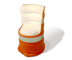 Cloche Chair - A Funky Chair by Carlo Sampietro