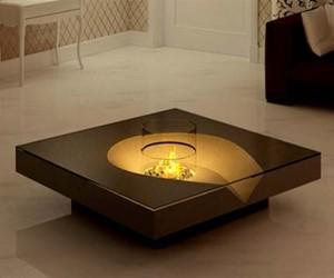 Http Materialicious Com 2010 02 Coffee Table With Fireplace By Planika Fires Html