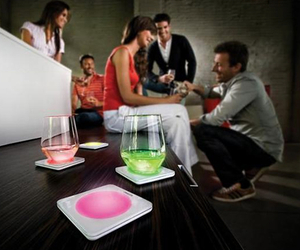Color Changing Coasters, by Philips