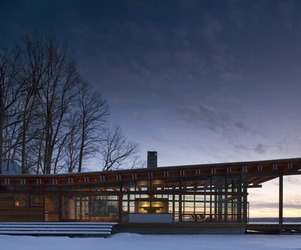 Combs Point Residence by Bohlin Cywinski Jackson 