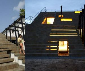 Cool-architecture-house-with-stairs-rooftop-m