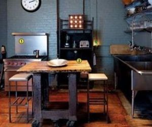 Kitchens Using Salvaged Simple Home Decoration