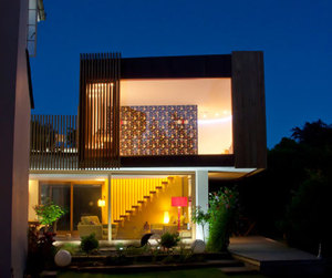 Copper House by Hyde + Hyde Architects