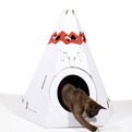 Corrugated-cardboard-teepee-pet-house-s