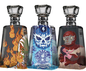 Creating the Lucha Libre Artwork for 1800 Tequila Bottles