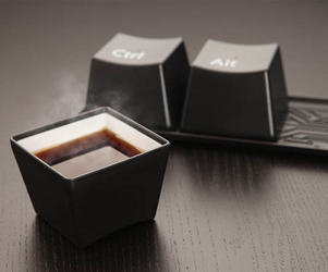 Ctrl-Alt-Delete Cup Set
