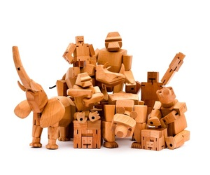 Cubebot and animal collection