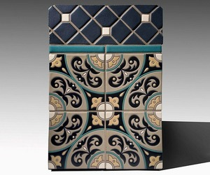 Cuerda Seca Decorative Tiles | Fireclay