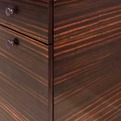 Custom-cabinetry-horizontally-matched-exotic-wood-veneer-s