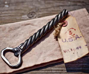 CXXVI Sea Rope Bottle Opener