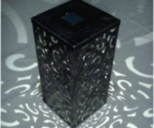 Dark Shadows Solar LED Table Top Votive