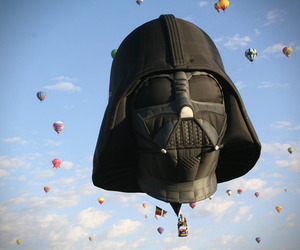 Darth Vader Hot Air Balloon
