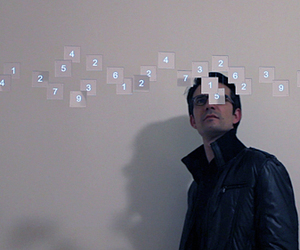 """ Data "" Art Installation by Philippe Safire"