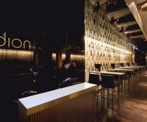 Dion Canary Wharf Bar by SHH