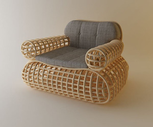 Doeloe-lounge-chair-and-pretzel-bench-abie-abdillah-m
