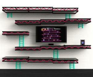 Donkey Kong Wall Shelf by Igor Chak