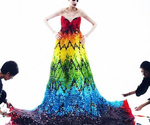 Dress Made of 50,000 Gummy Bears