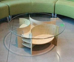 Drum Coffee Table Design