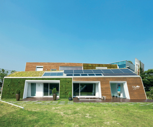 E+ Green Home by Unsangdong Architects