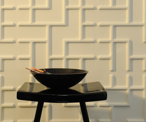 eco friendly 3d-wallpanels and embossed wall tiles