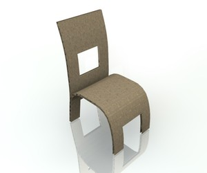 Chair from ECOR lightweight panels