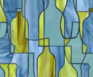 Erin Bottles from a New Mosaic Tile Collection