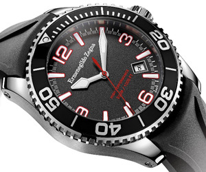  Ermenegildo Zegna x Girard-Perregaux Sea Diver.Watch