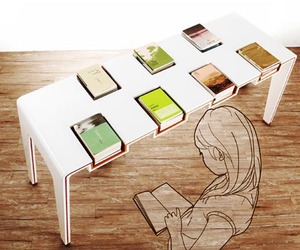 EXHIBITable – A Modern Library Table