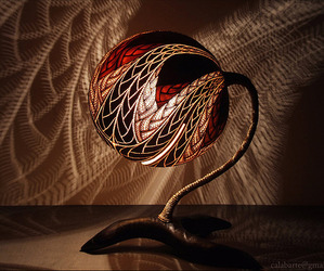 Exotic-gourd-lamps-by-calabarte-m