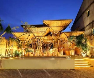 Exotic Japanese Restaurant Design in Indonesia