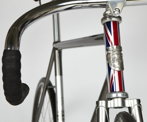 Feather Cycles x John Smedley Track Bike